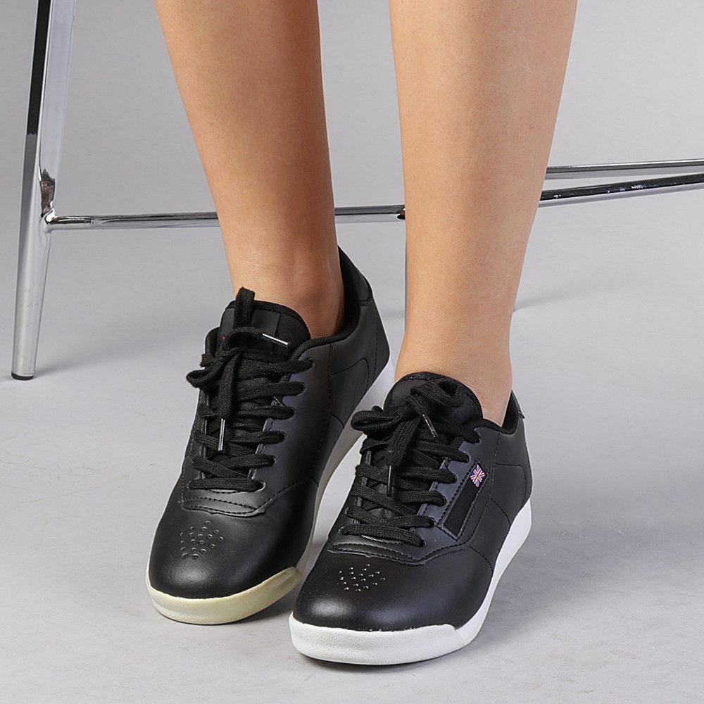 Pantofi sport dama Noreen negri cu alb
