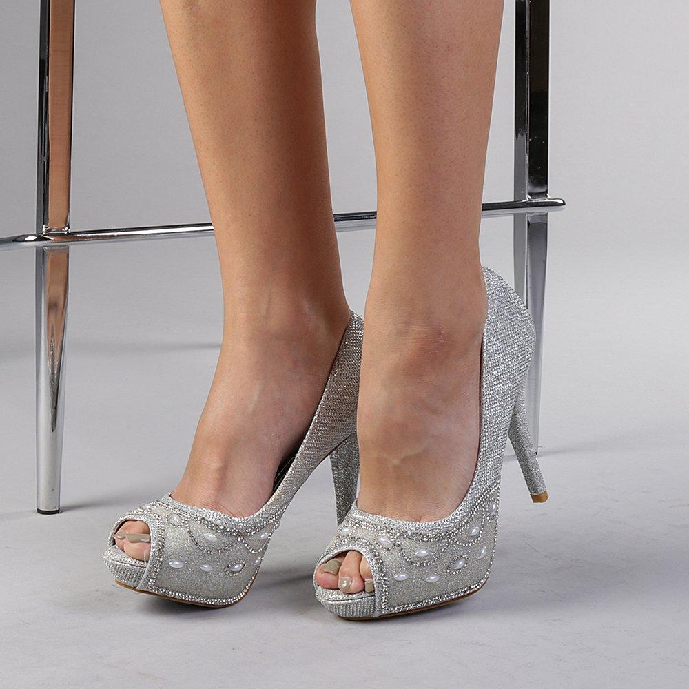 Pantofi Dama Simina Argintii