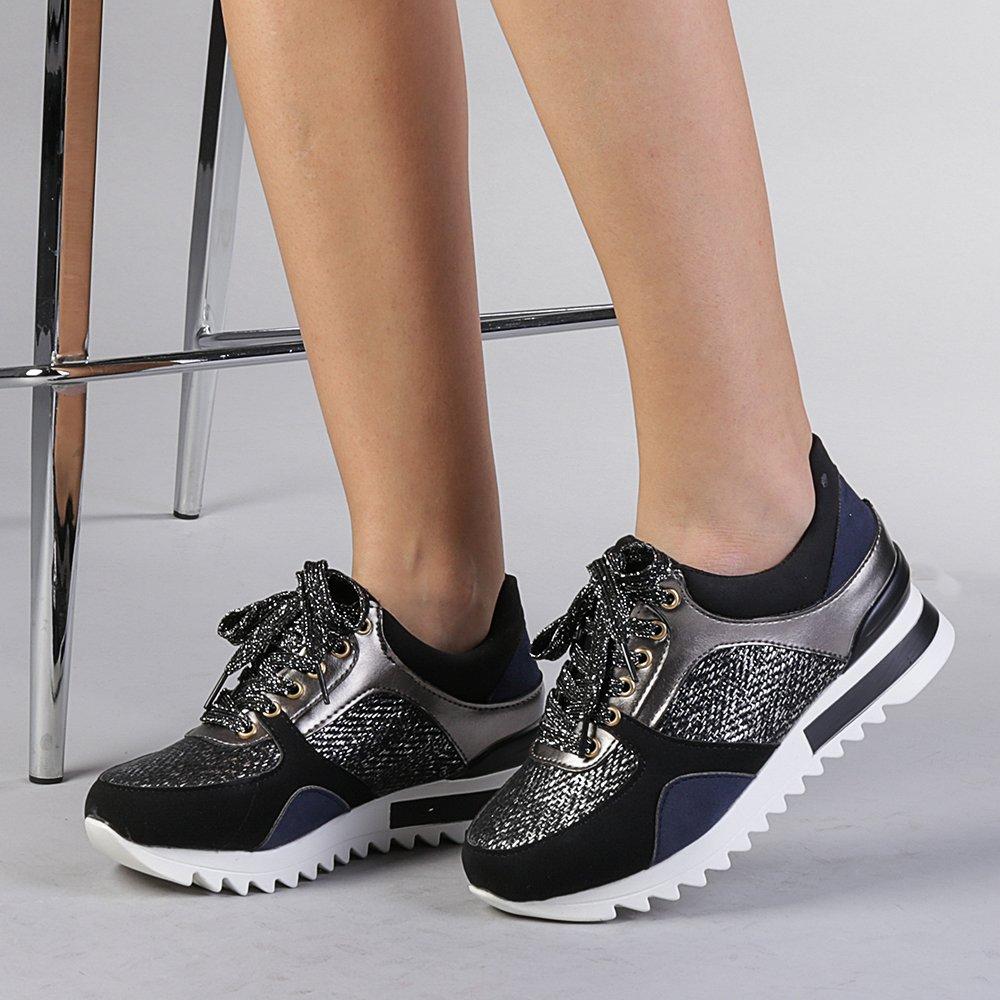 Pantofi sport dama London khaki