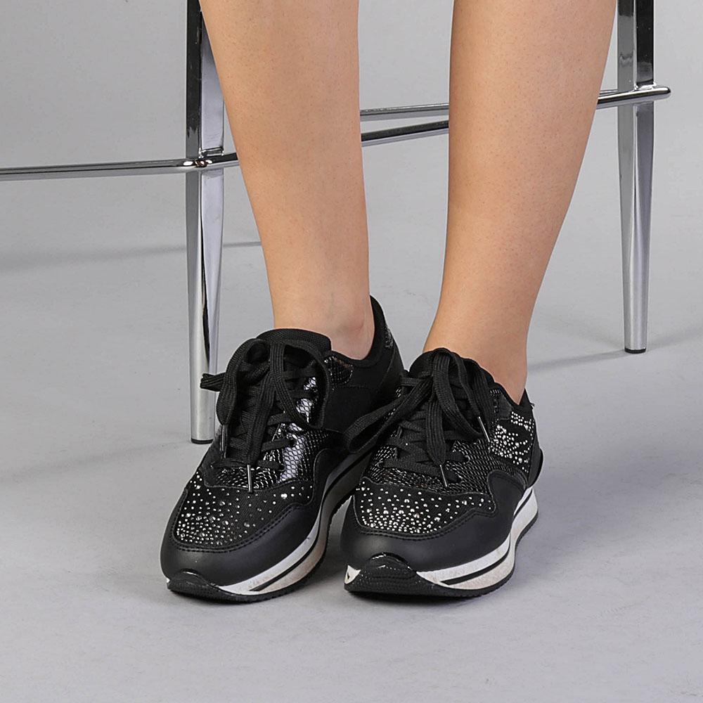 Pantofi sport dama Marionn negri