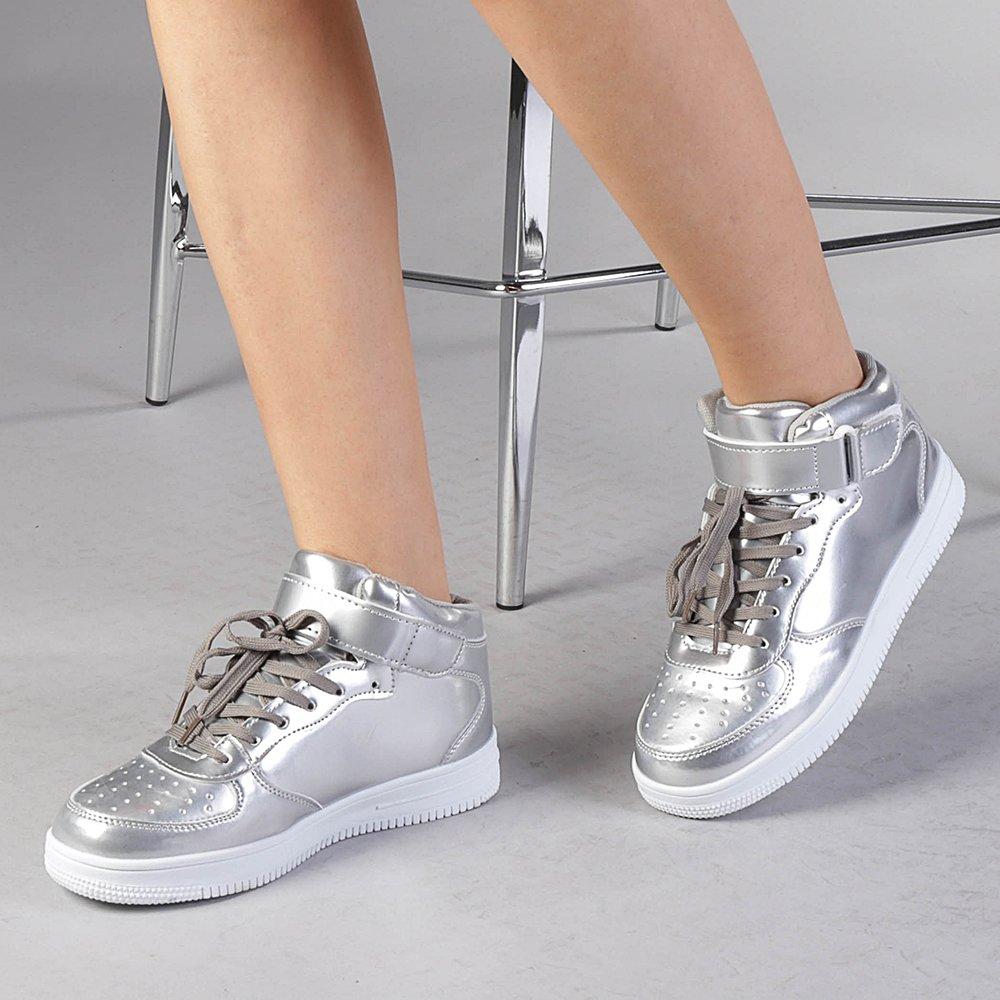 Pantofi sport dama Alice argintii