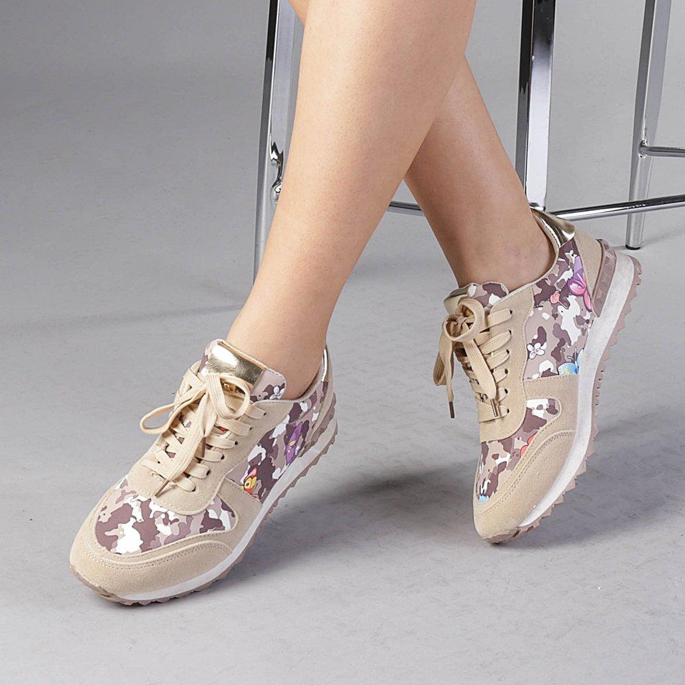 Pantofi sport dama Athena bej