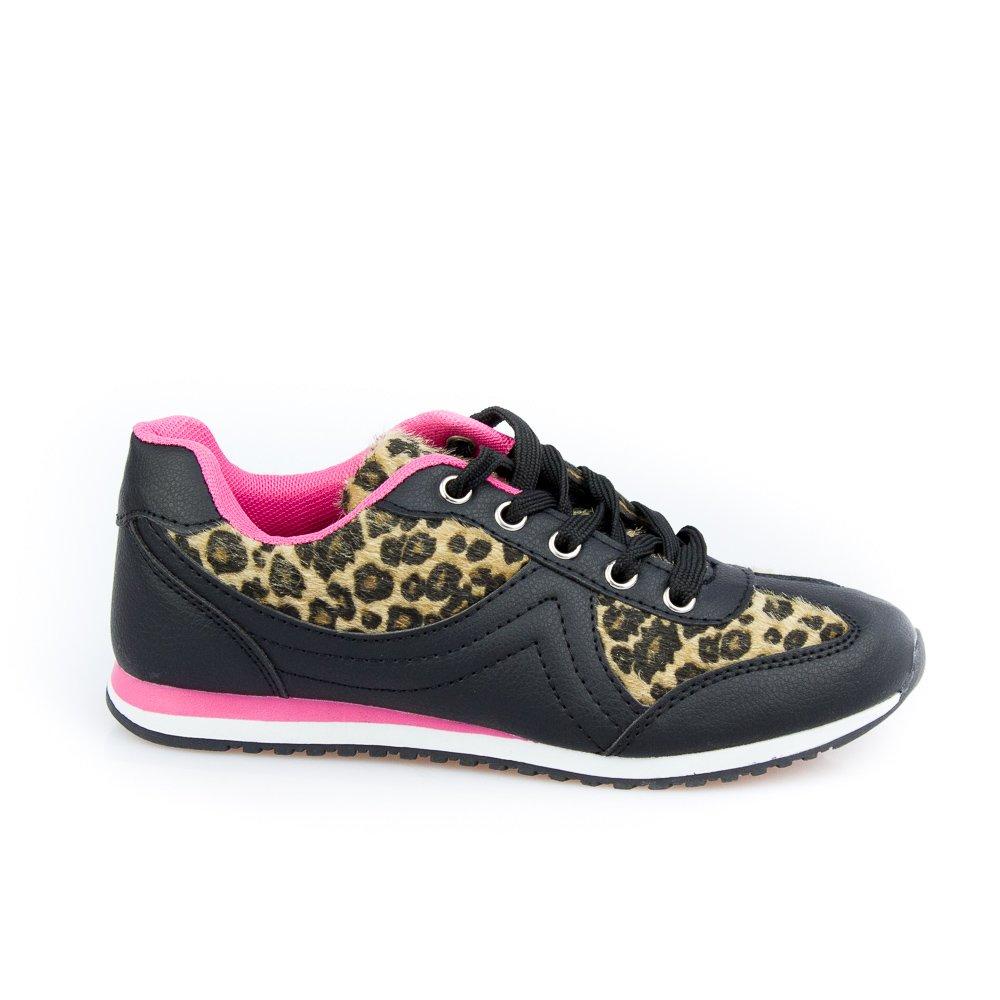 Pantofi Sport Dama Melda 1 Negri Cu Camel