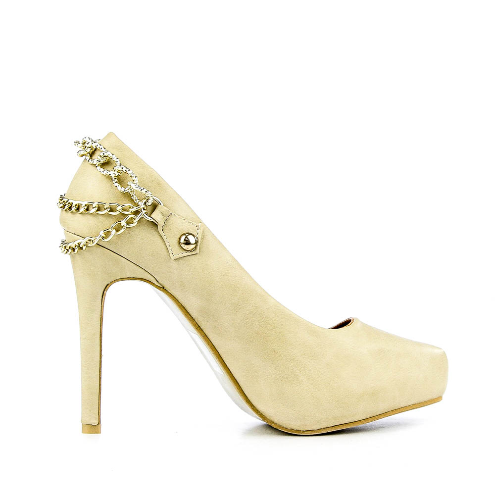 Pantofi dama Lupita bej