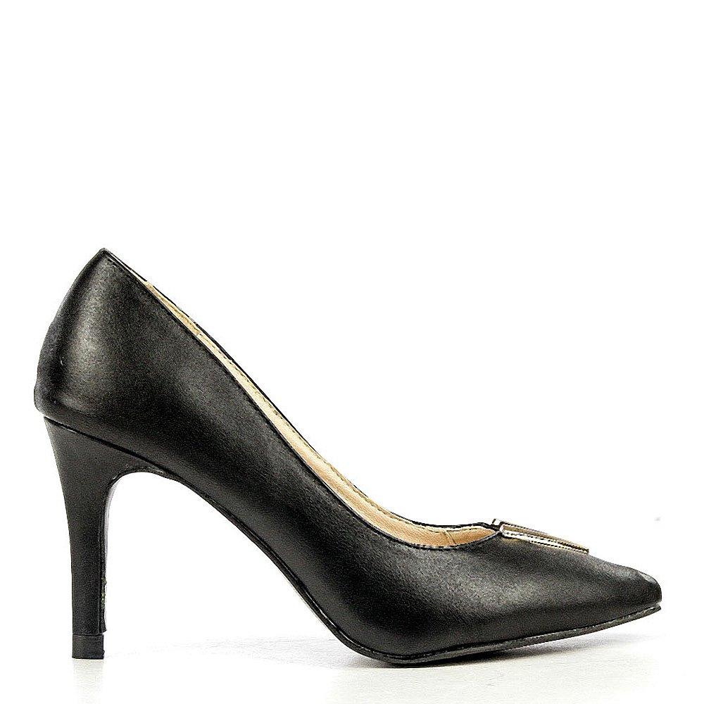 Pantofi stiletto dama Nuria negri