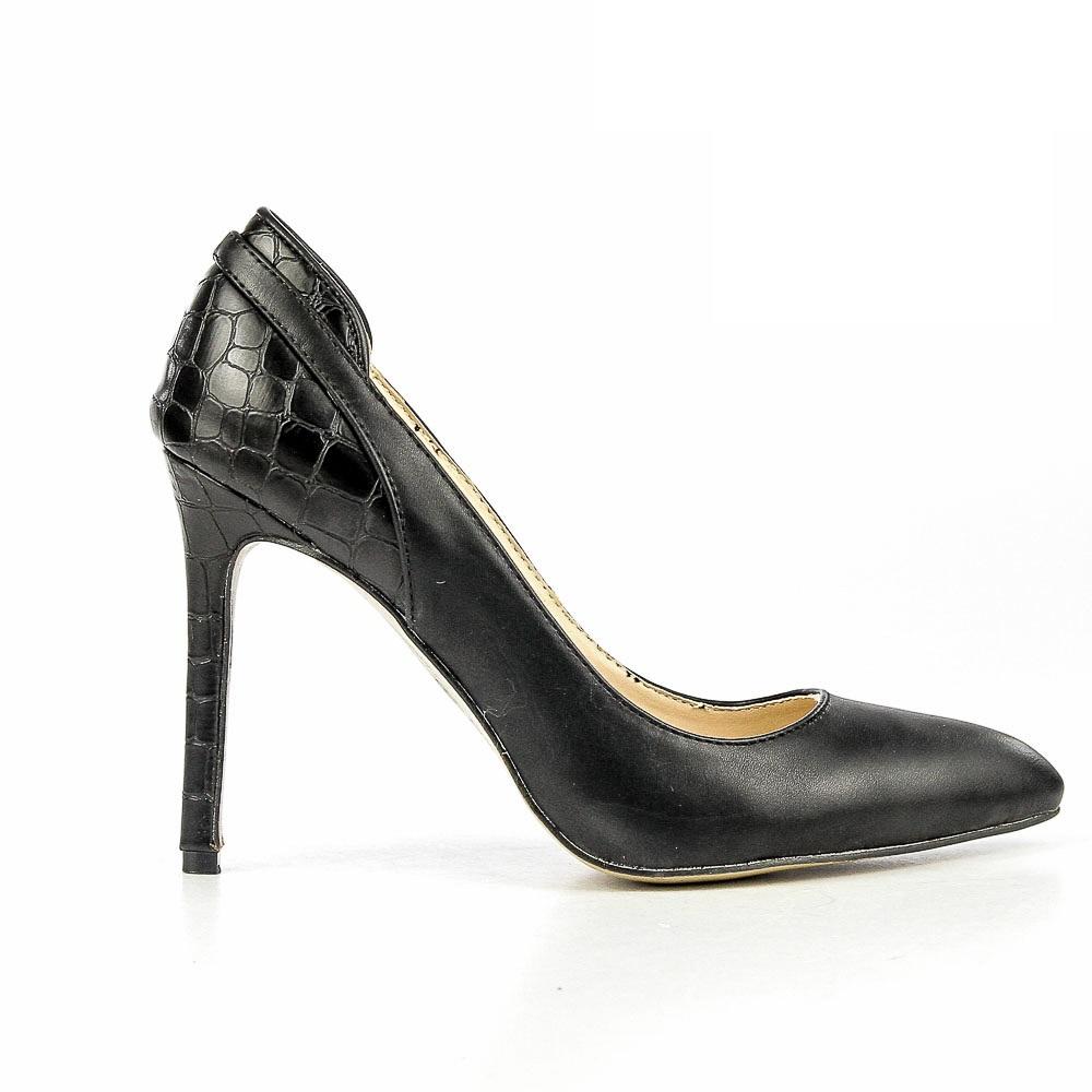 Pantofi stiletto dama Goulding negri
