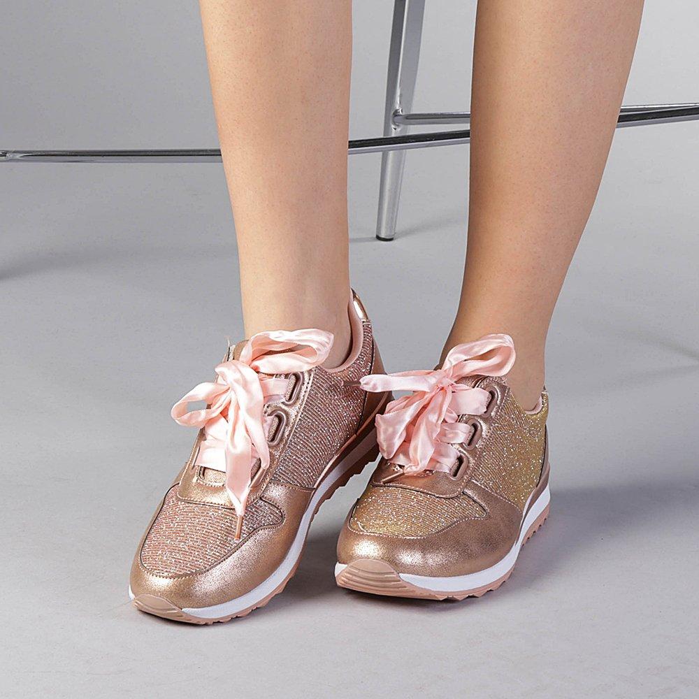 Pantofi sport dama Valentine argintii