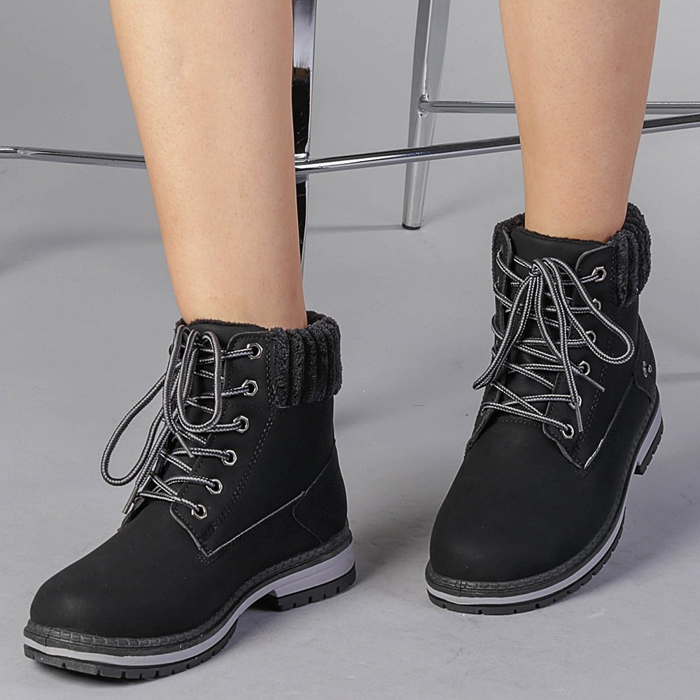 Pantofi sport dama Cayla negri
