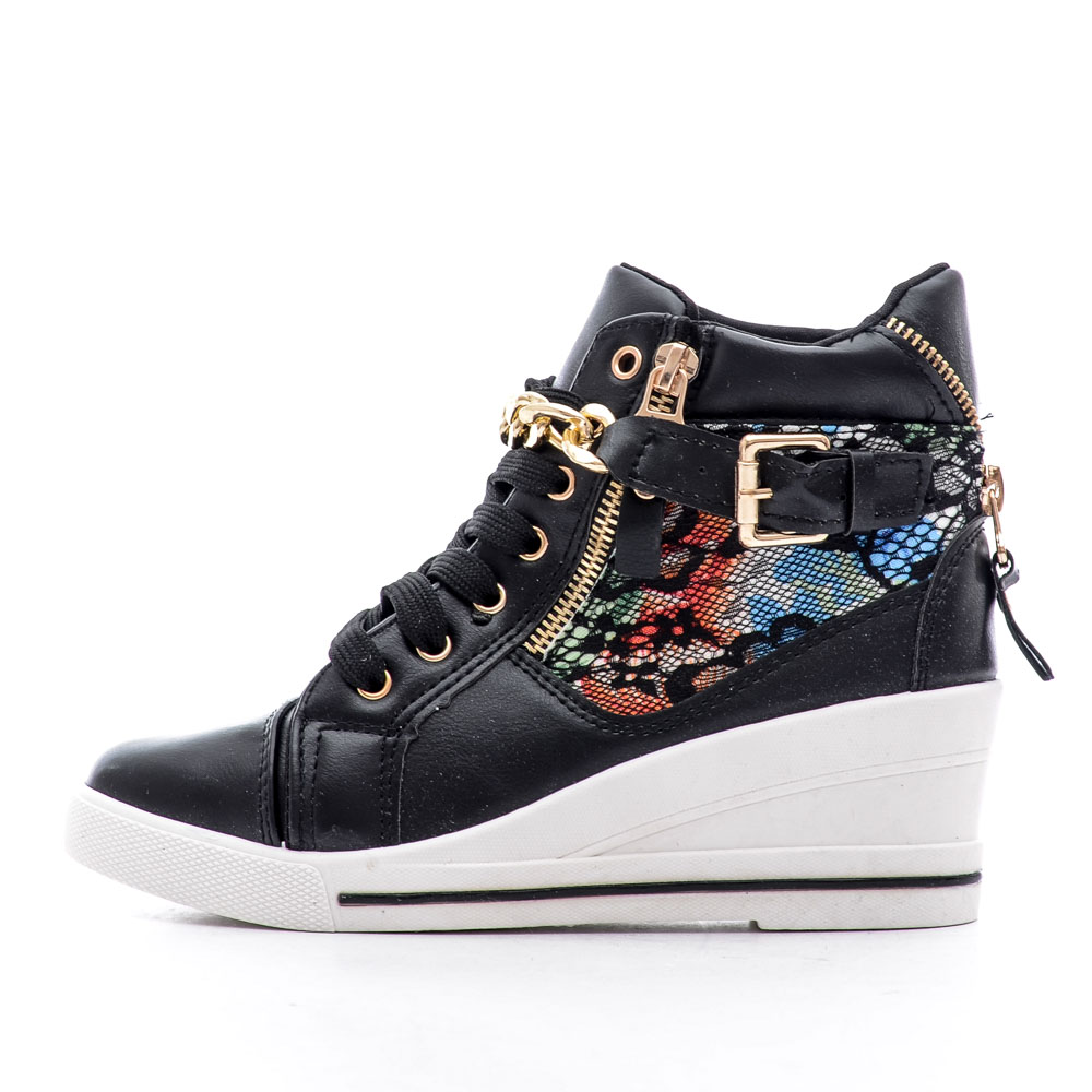 Sneakers dama Lexia negru