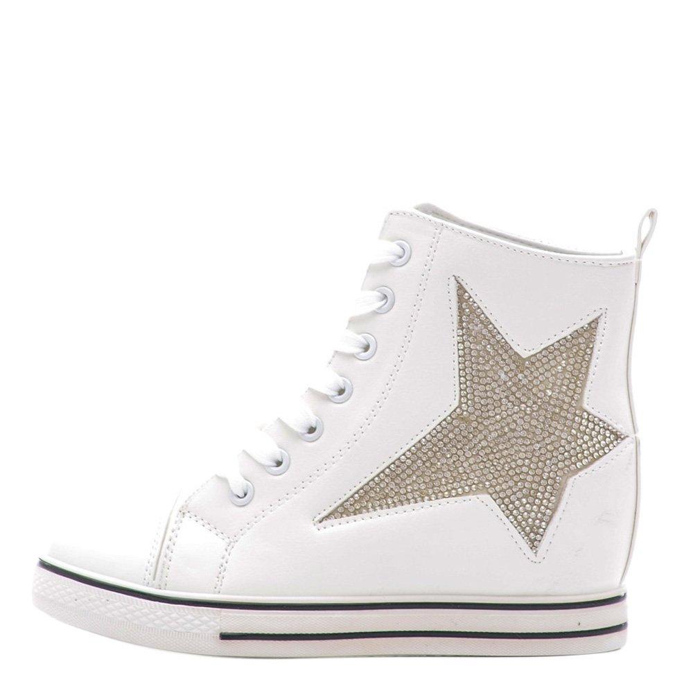 Sneakers dama Brielle alb