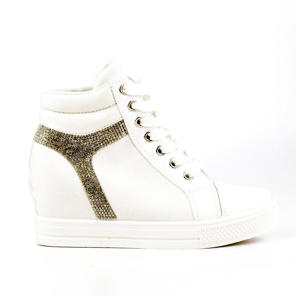 Sneakers dama Madelyn alb