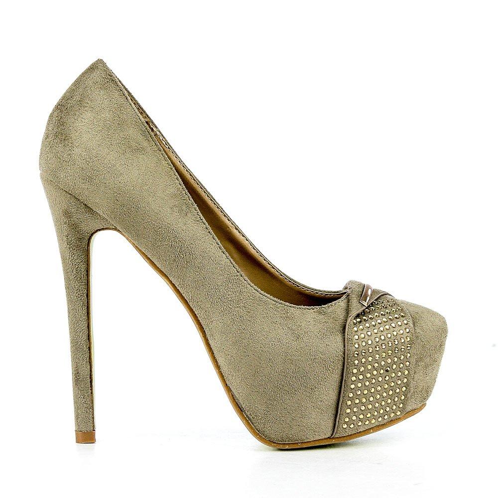 Pantofi dama Eiko khaki
