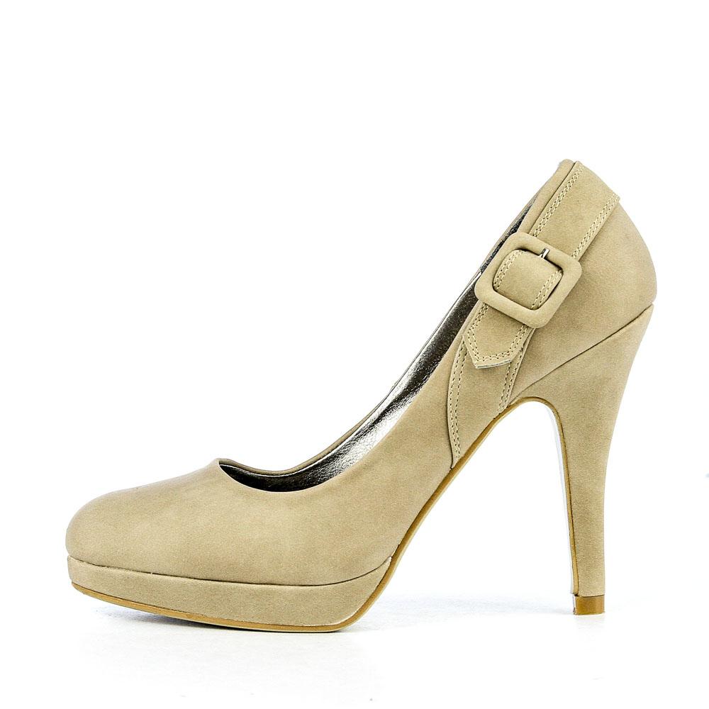 Pantofi Dama Elvira Khaki