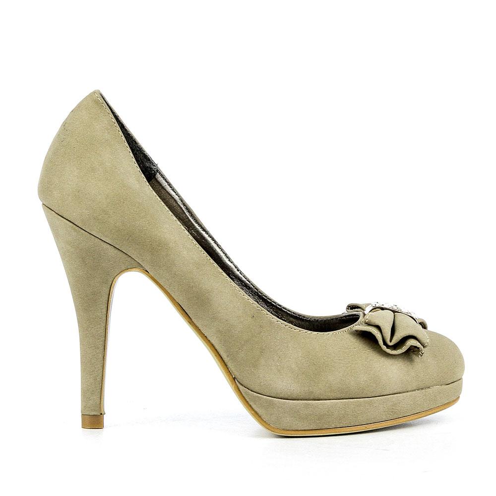 Pantofi dama Ginger 2 khaki