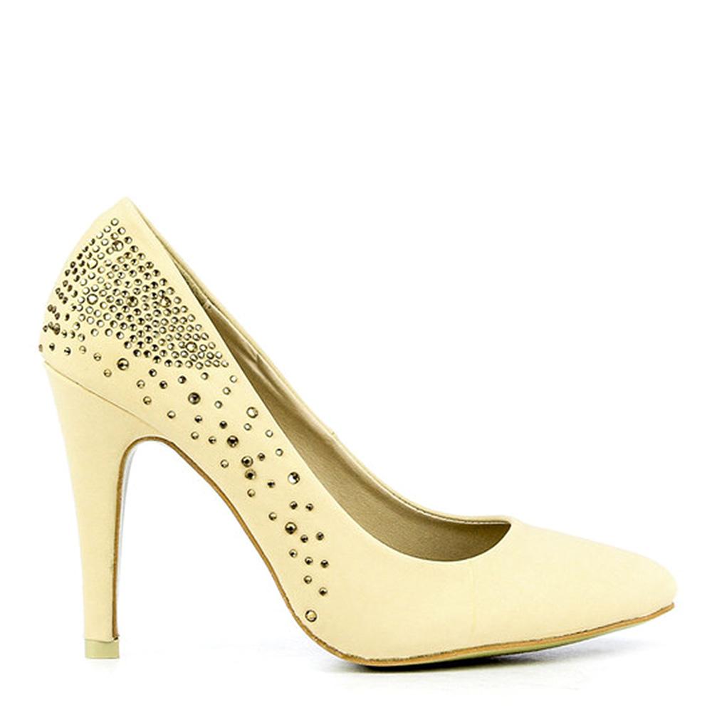 Pantofi Dama Clother Bej
