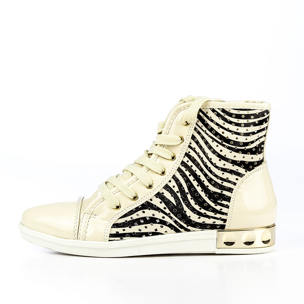 Sneakers dama Helga bej