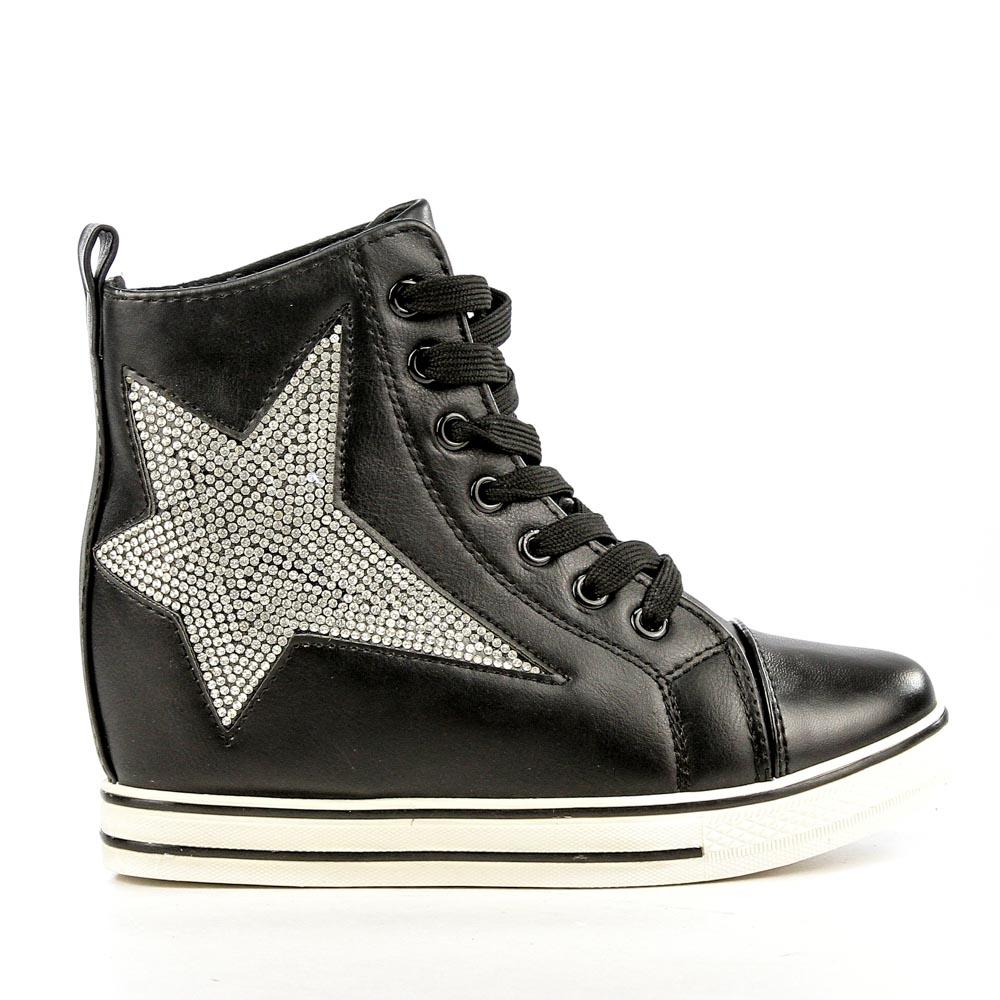 Sneakers dama Brielle negru