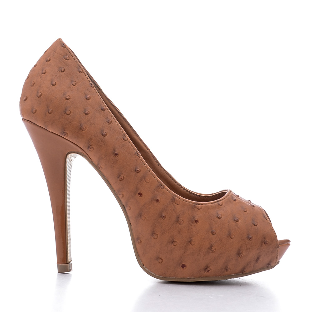 Pantofi dama Shannon camel