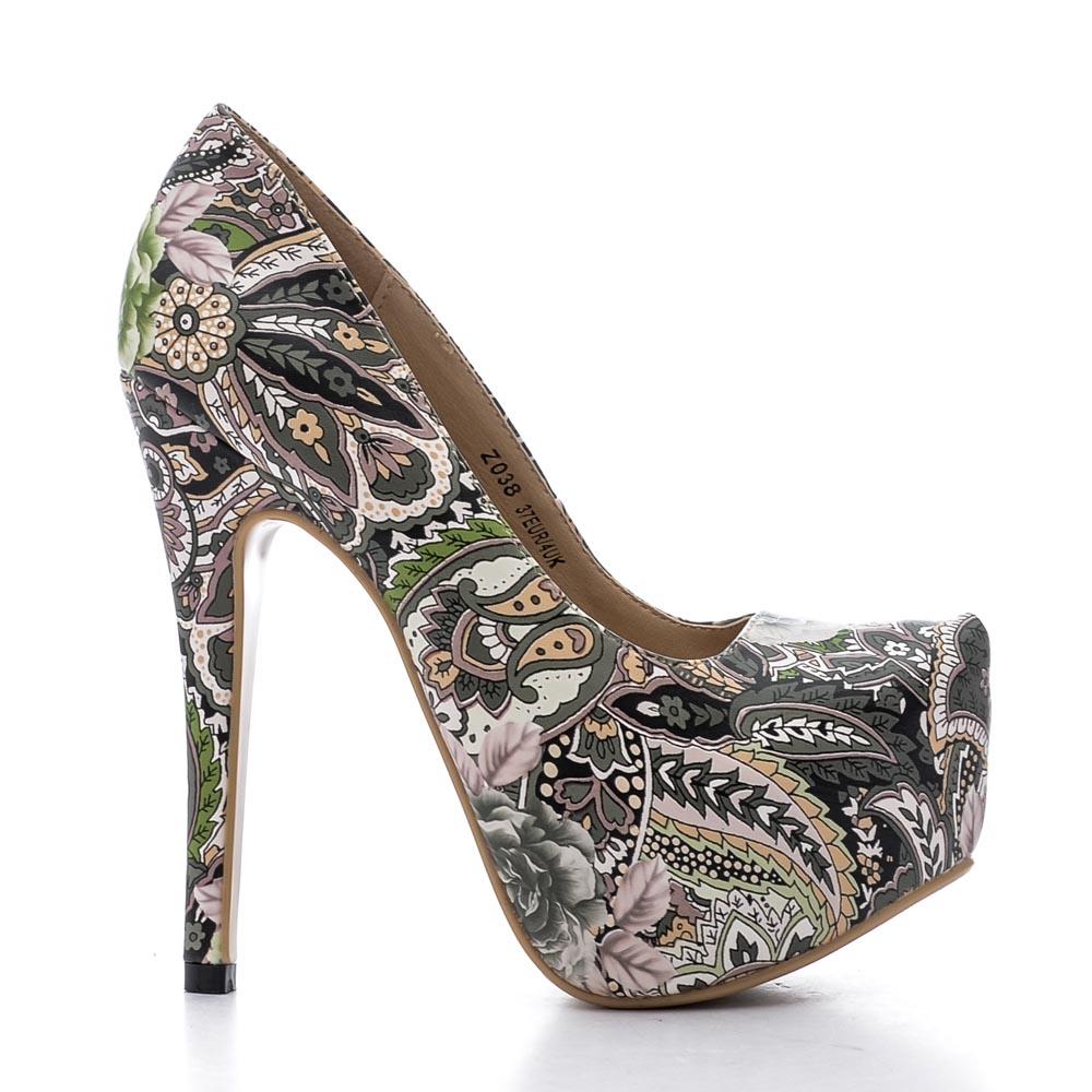 Pantofi dama Kerry 1 verzi