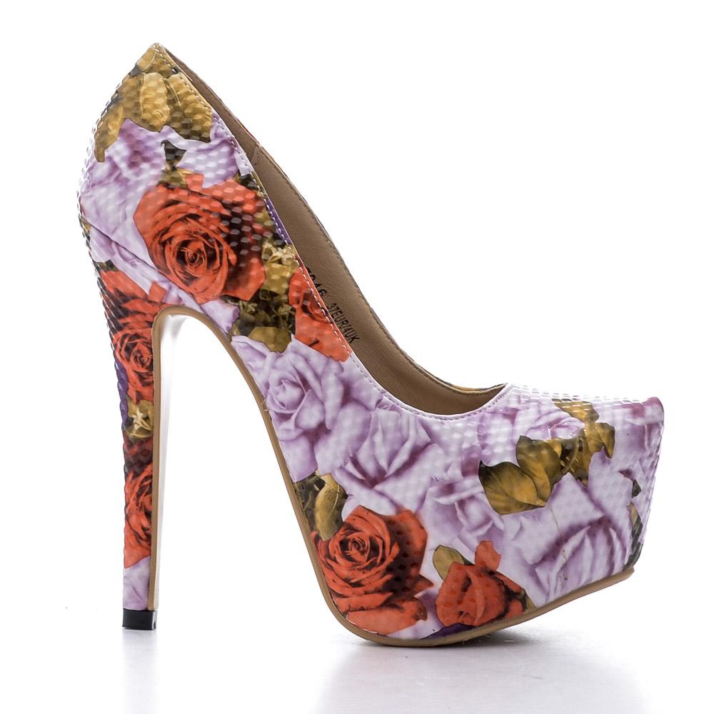 pantofi dama Kerry 2 mov