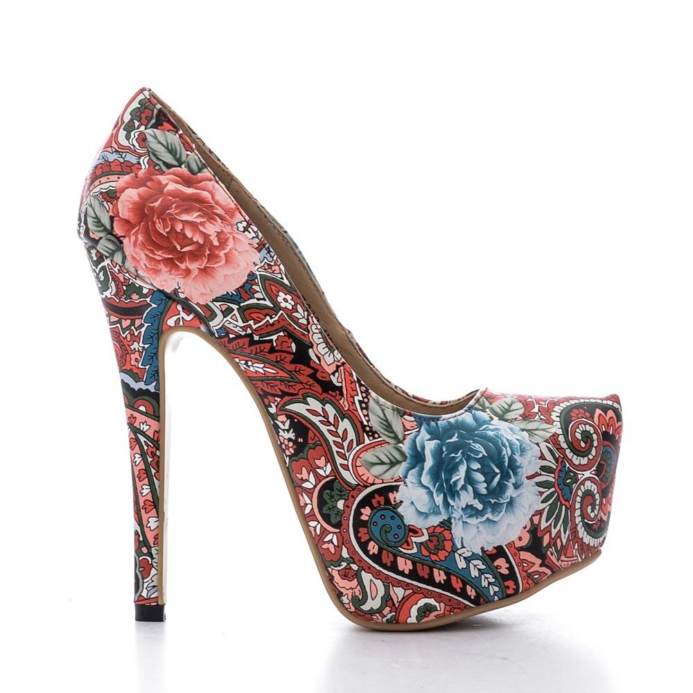 Pantofi Dama Kerry 1 Rosii