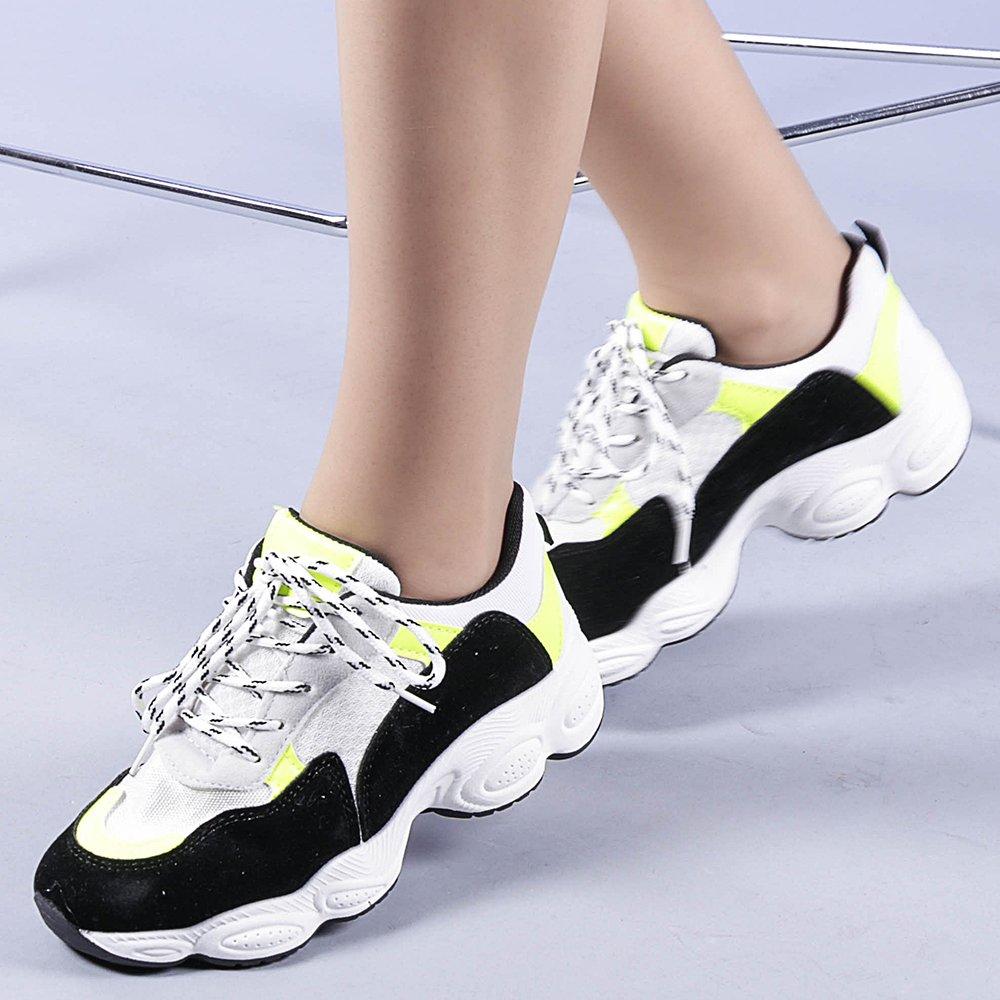 Pantofi sport dama Rosalia verzi
