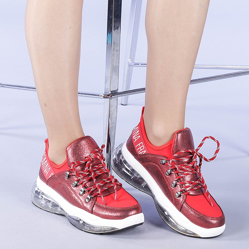Pantofi sport dama Halos rosii
