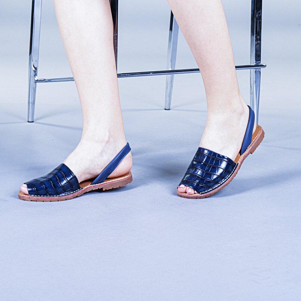 Sandale dama Elvira albastre