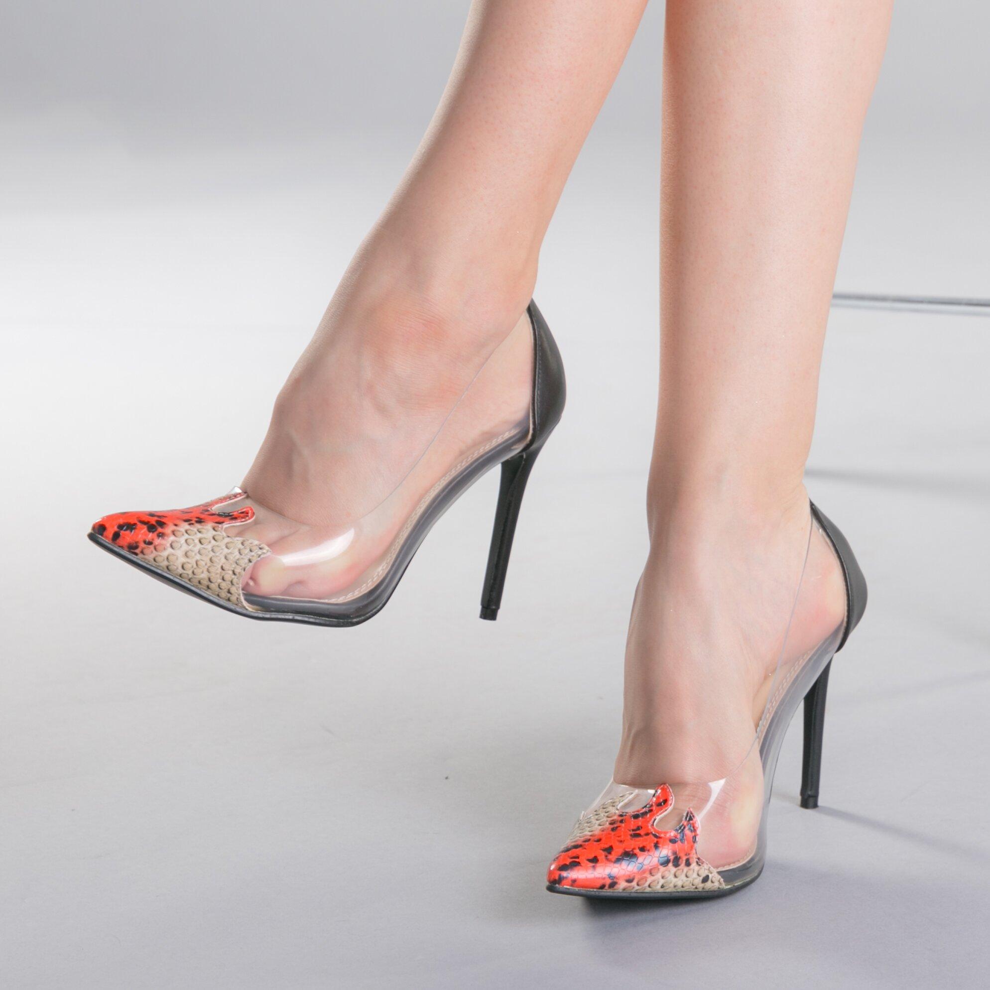 Pantofi dama Silvia maro