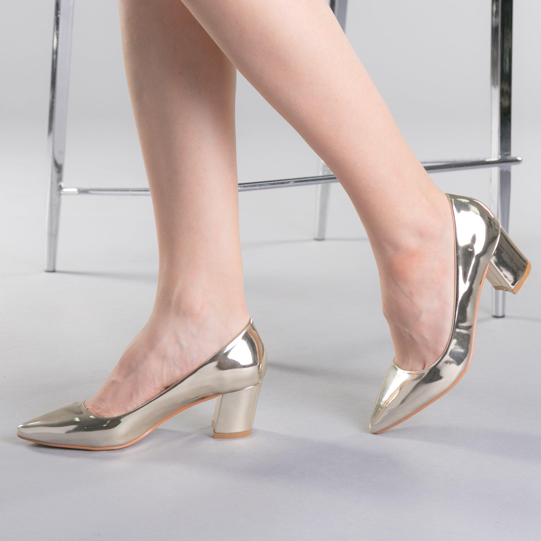Pantofi dama Afila aurii