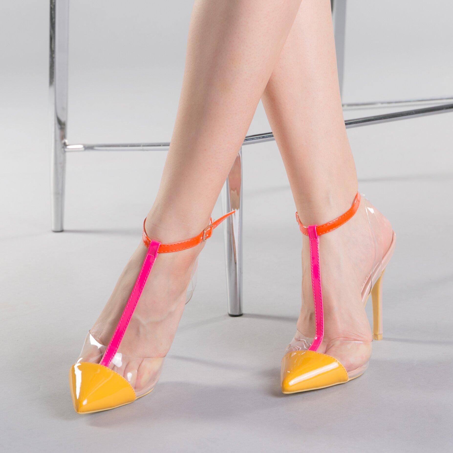 Pantofi dama Miriam galbeni