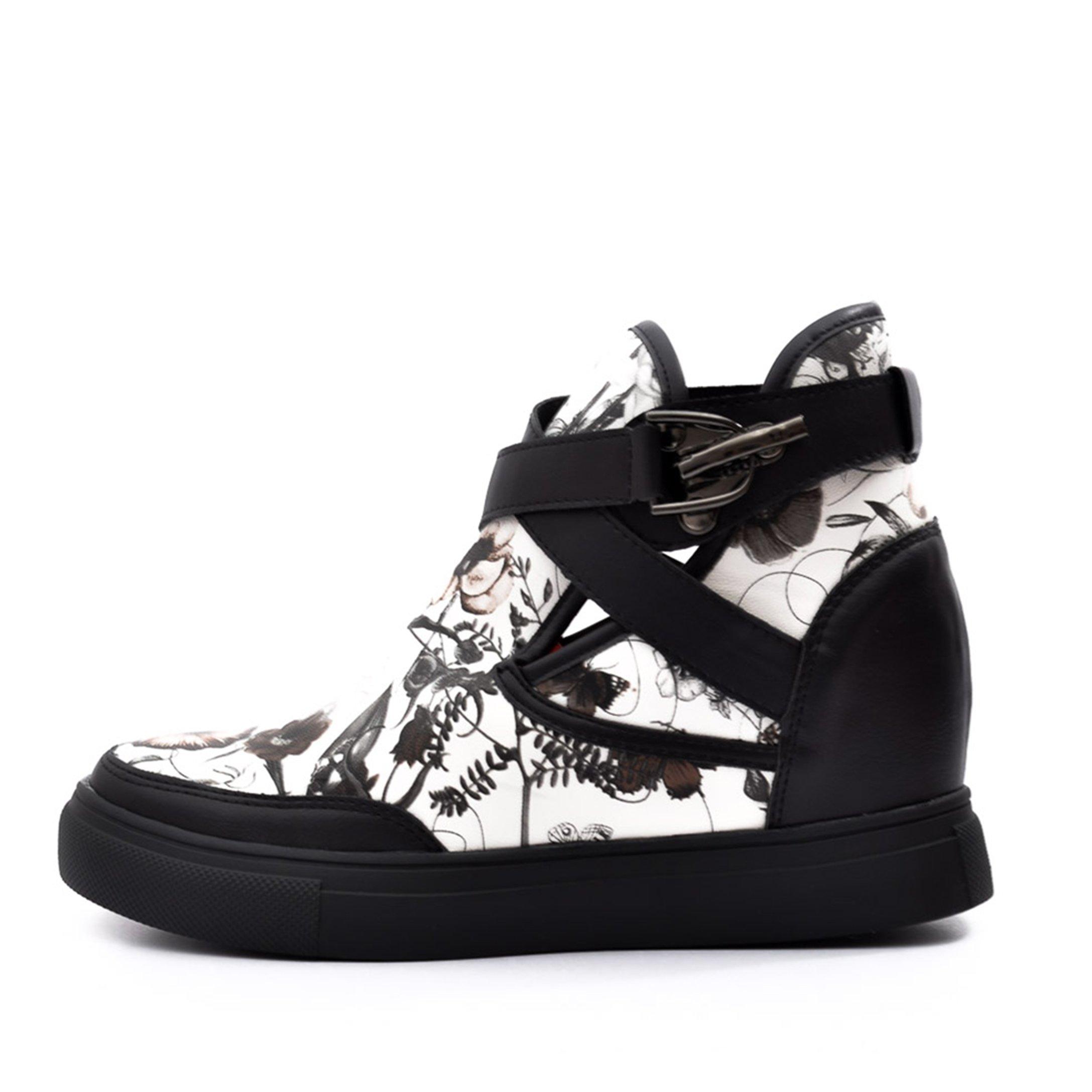 Sneakers dama Benita negru