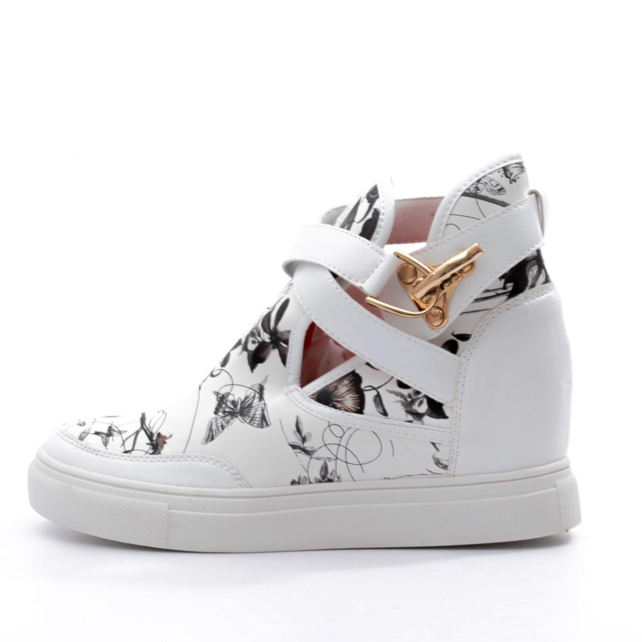 Sneakers dama Benita alb