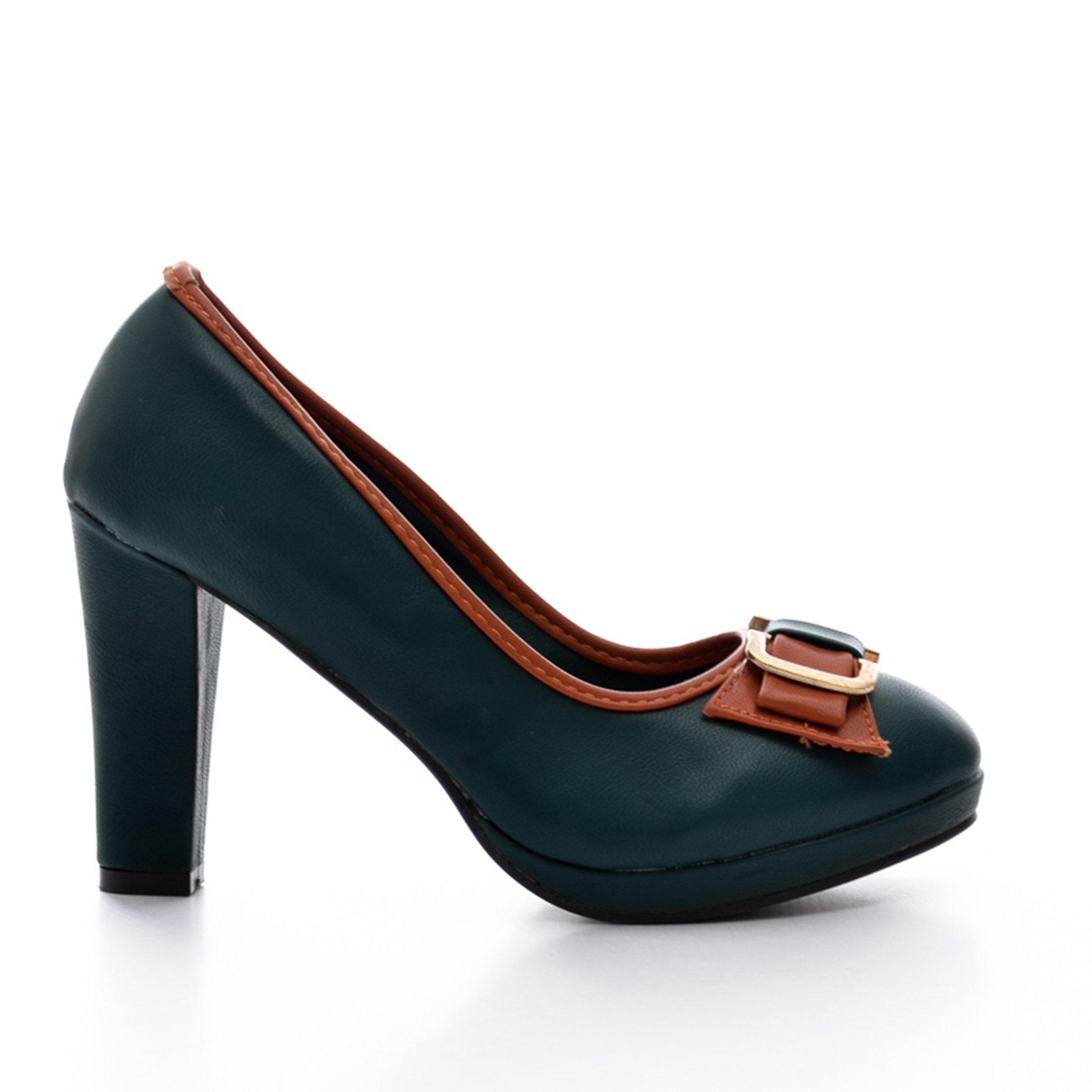 Pantofi dama Isolde verzi