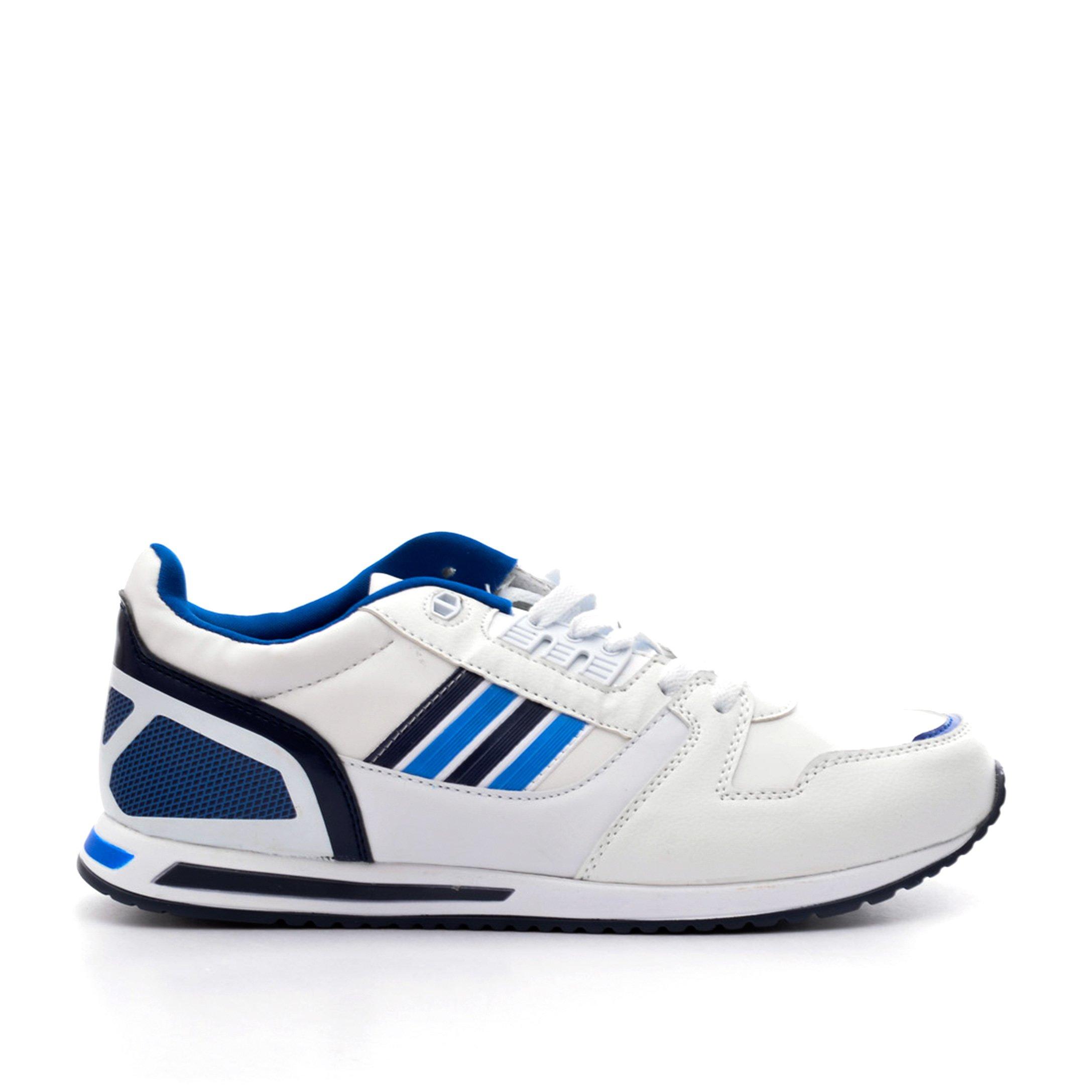 Pantofi sport dama Honor 1 albi cu albastru