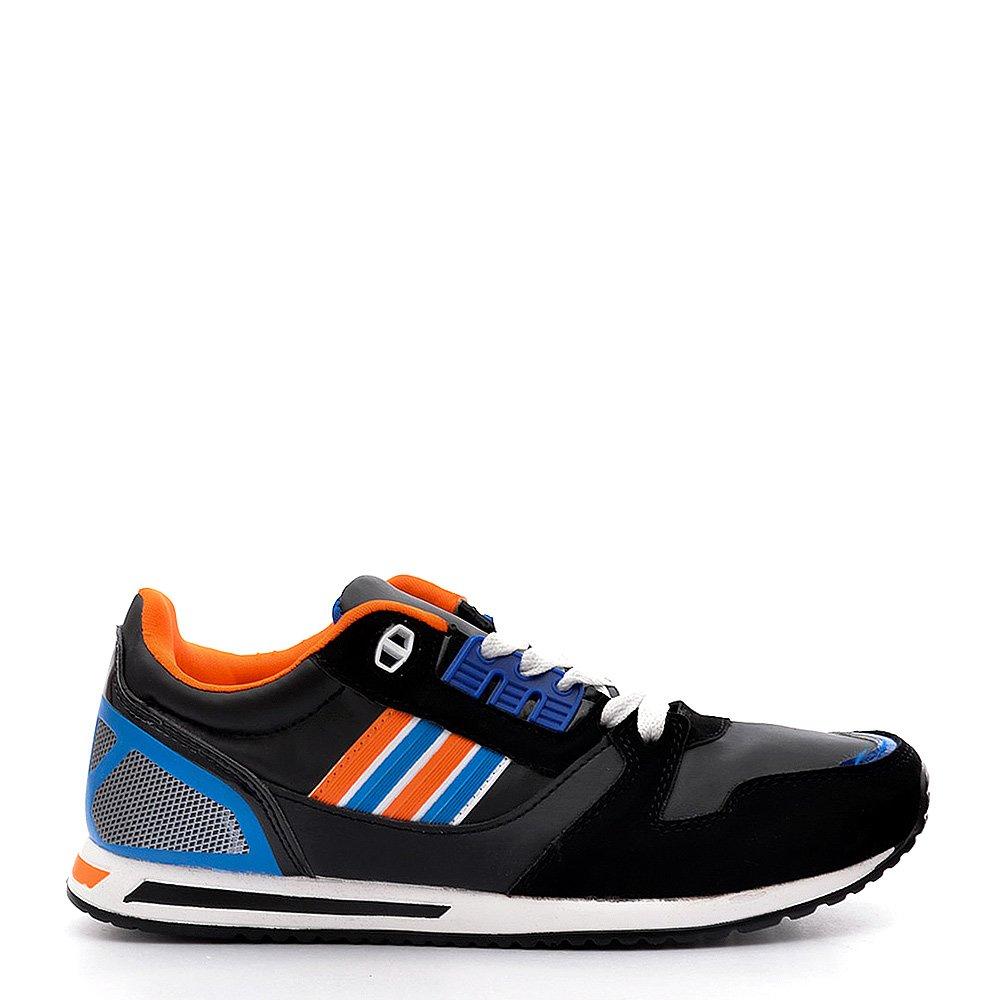 Pantofi sport dama Honor 1 negri cu orange