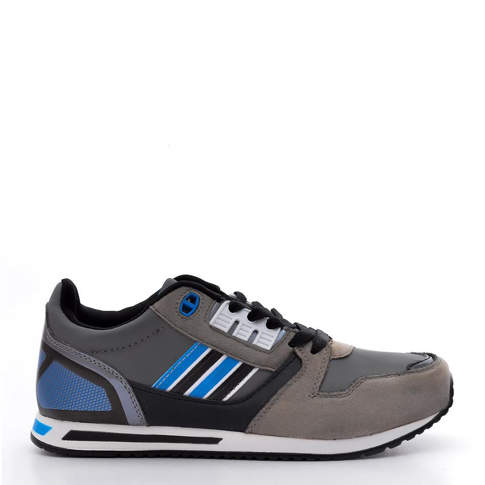Pantofi sport dama Honor 1 gri cu bleu