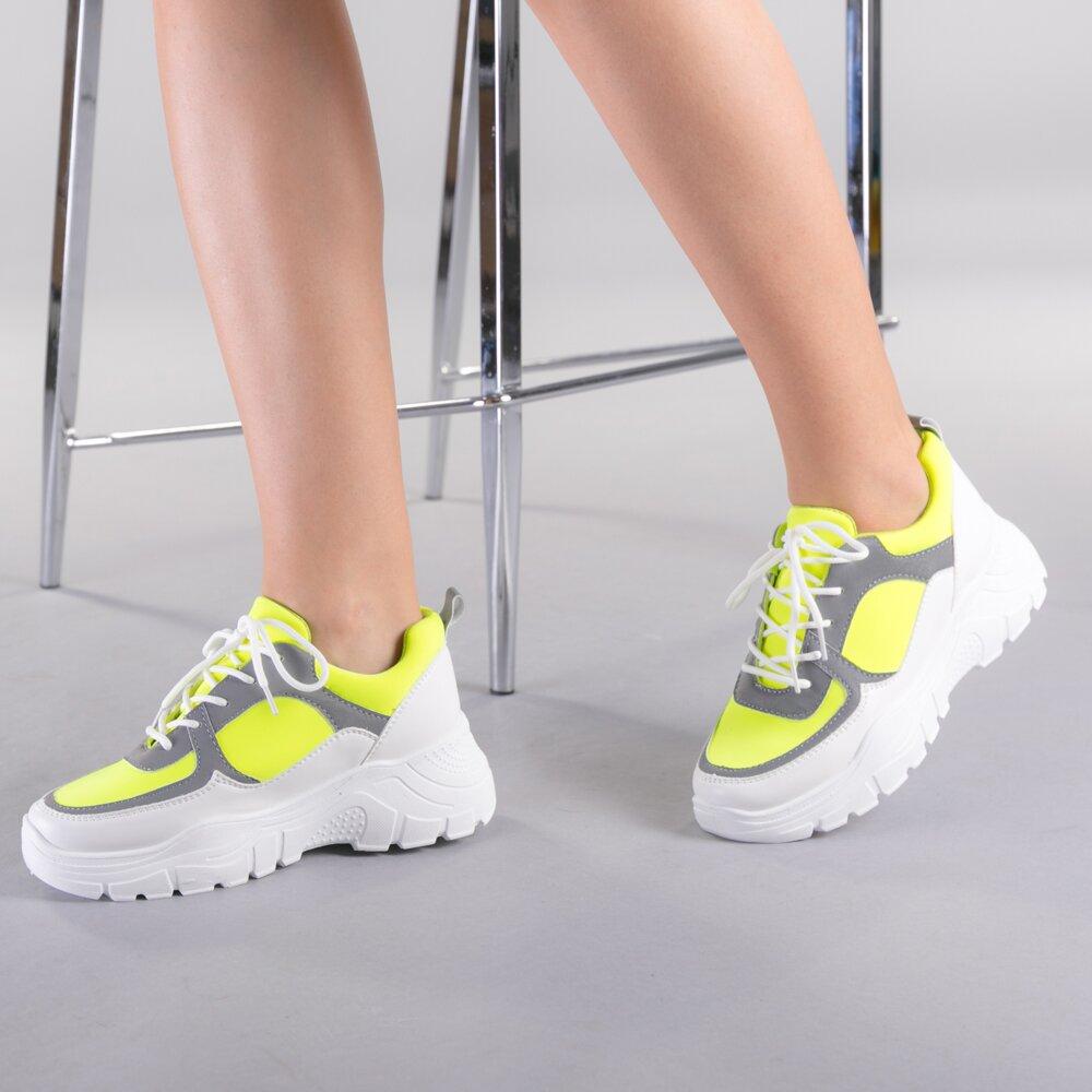 Pantofi sport dama Luciana fuchsia