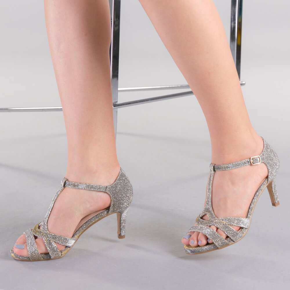 Sandale dama Lauriana aurii