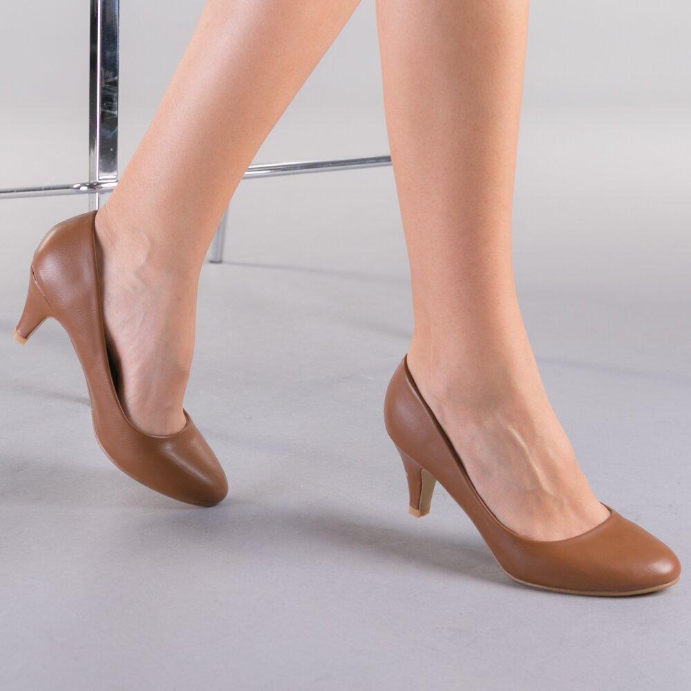 Pantofi dama Elizza maro