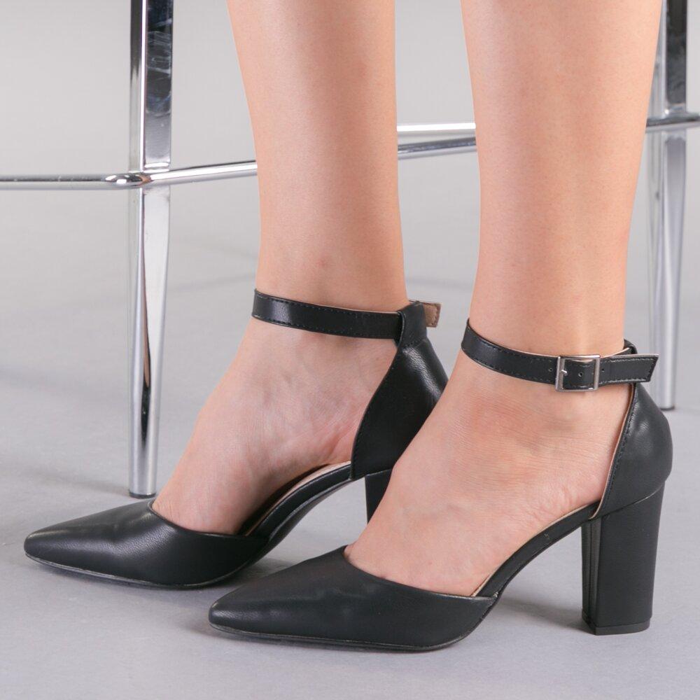 Pantofi dama Tasha negri