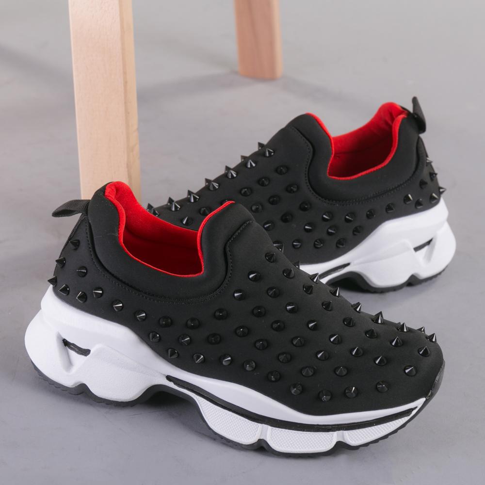 Pantofi sport dama Enova negri