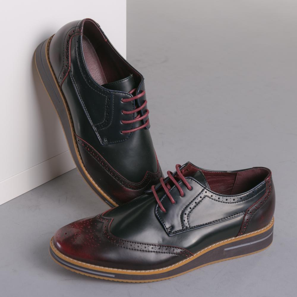 Pantofi barbati Marius grena