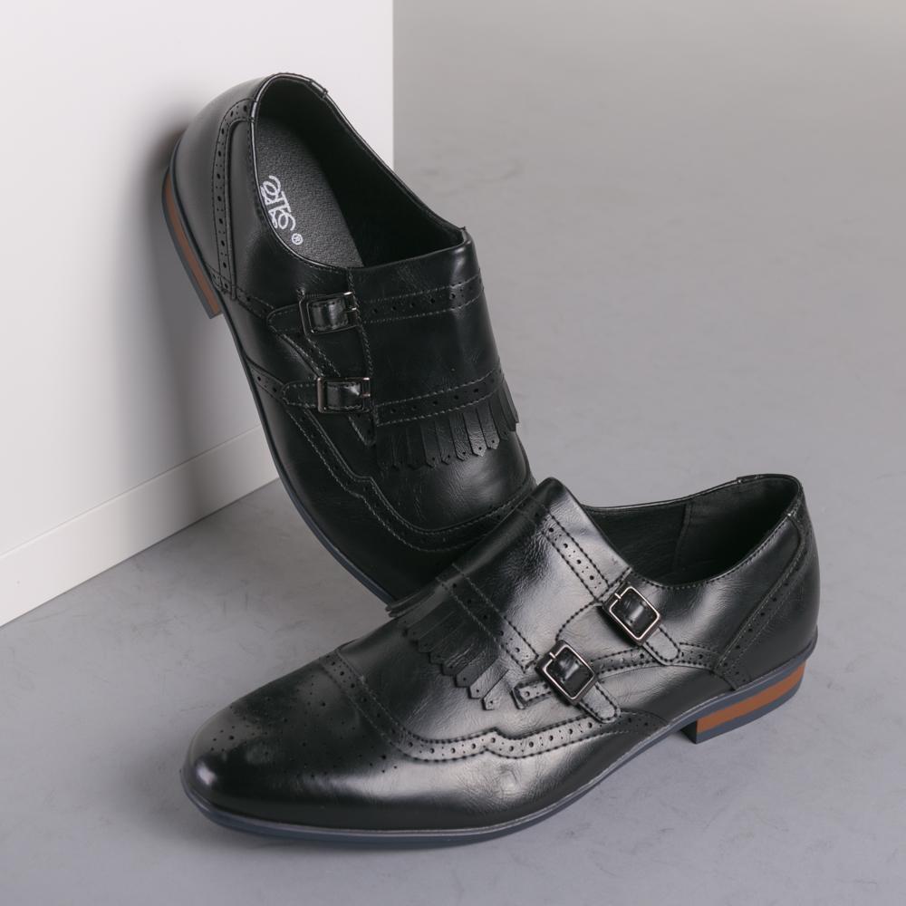Pantofi barbati Nicos negri