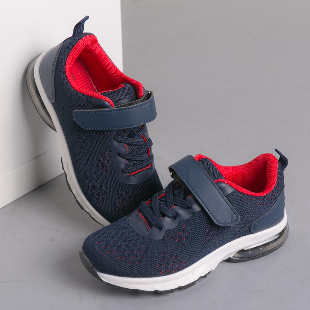 Pantofi sport copii Viva albastru cu rosu