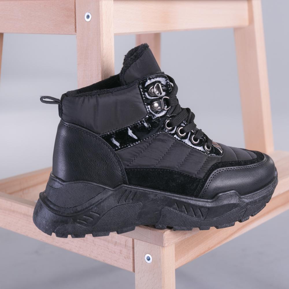 Pantofi sport dama Clain negri