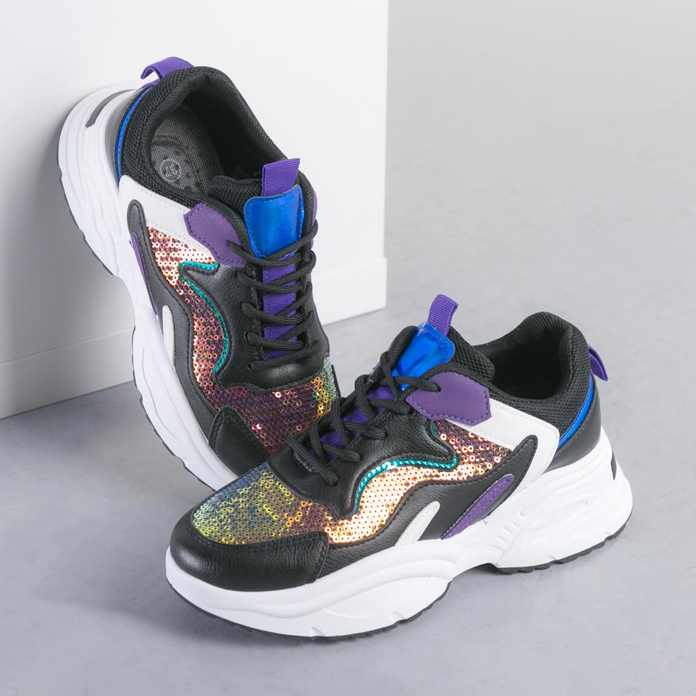 Pantofi sport dama Lucille negri