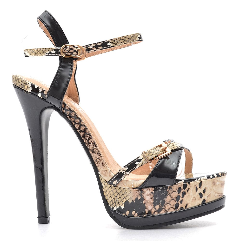 Sandale dama Barclay negre