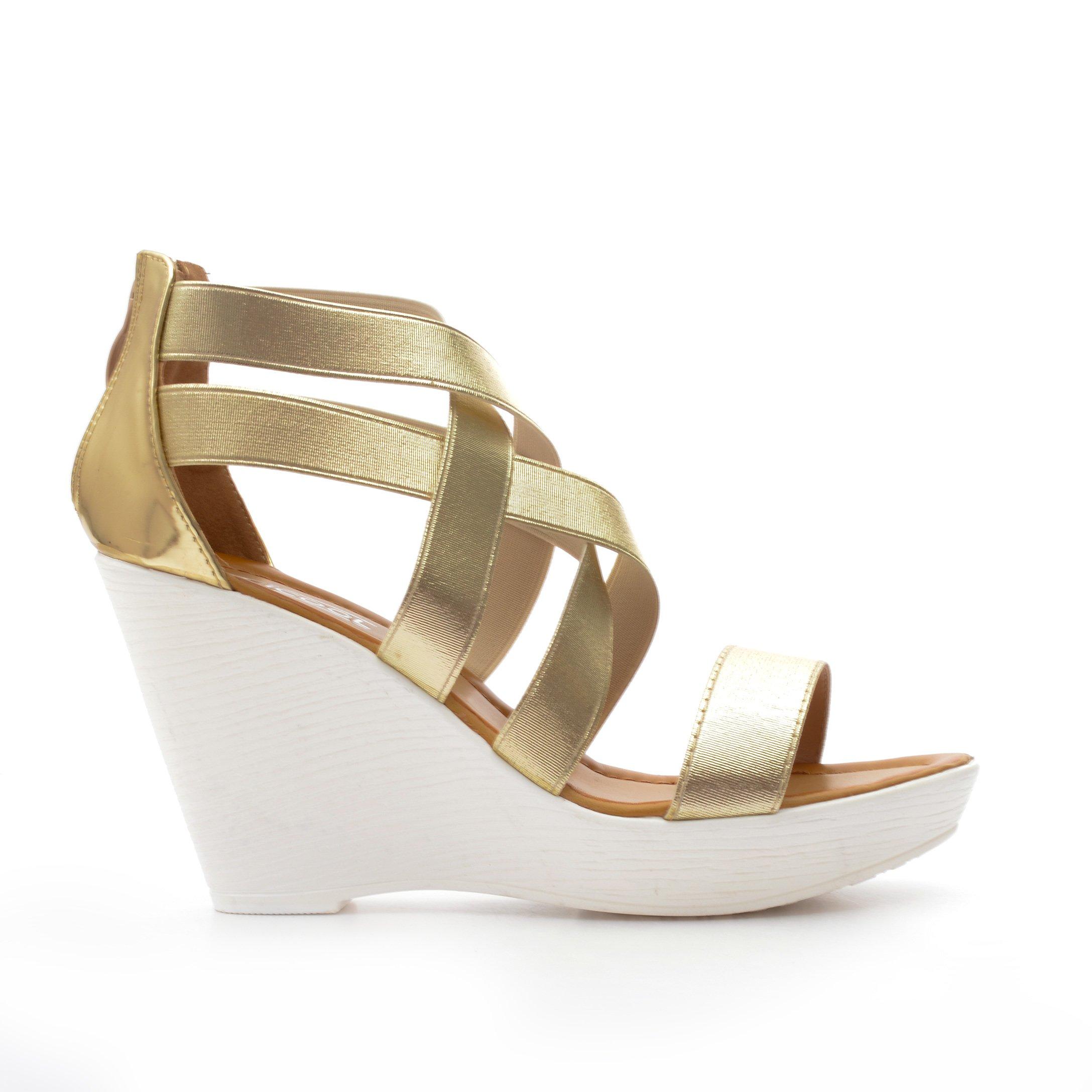 Sandale Dama Julia Aurii