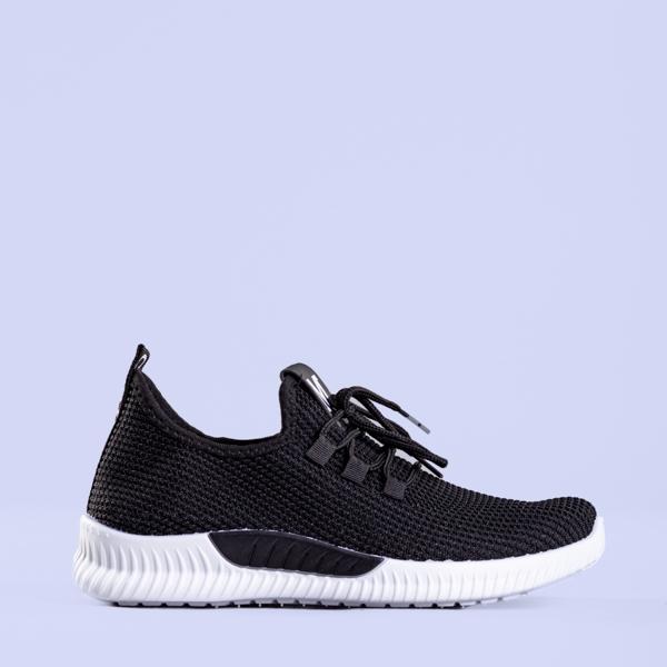 Pantofi sport dama Medea negri